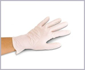 Disposable Latex Gloves 100MED