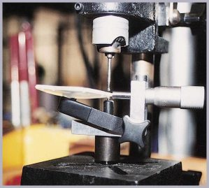 Lens Drilling Vise