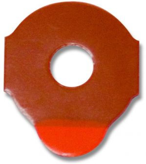 Red Blocking Pads Roll - 1000 28x24mm