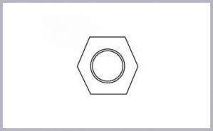 Poli-Nut Hex 25 SSteel 2.25L 1.2D