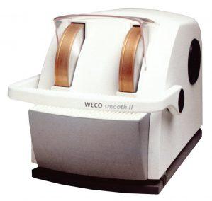 WECO Smooth II Lab Dual Wheel Hand Edger