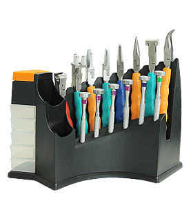 14 Piece Plier / Screwdriver Tool Kit and Stand