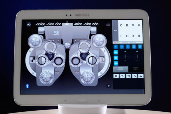 VX55 Tablet Interface
