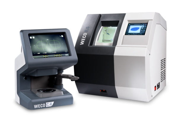 WECO E.5 Series Patternless Edgers