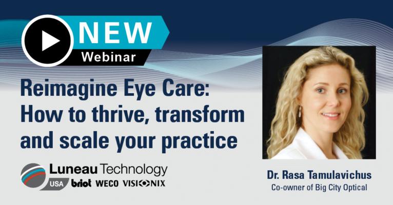 Reimagine Eye Care Webinar